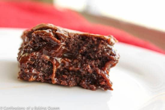 Salted Caramel Heath Bar Stuffed Brownies