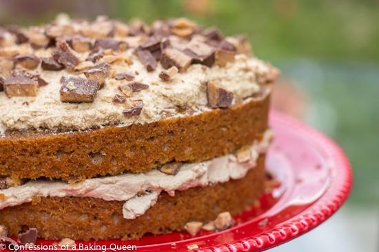 Heath Bar Coffee Ice Cream Cake