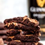 Guinness Chocolate Cookies Stalked Tall