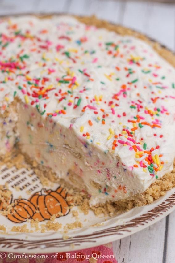 Healthy Homemade Cake Batter Ice Cream