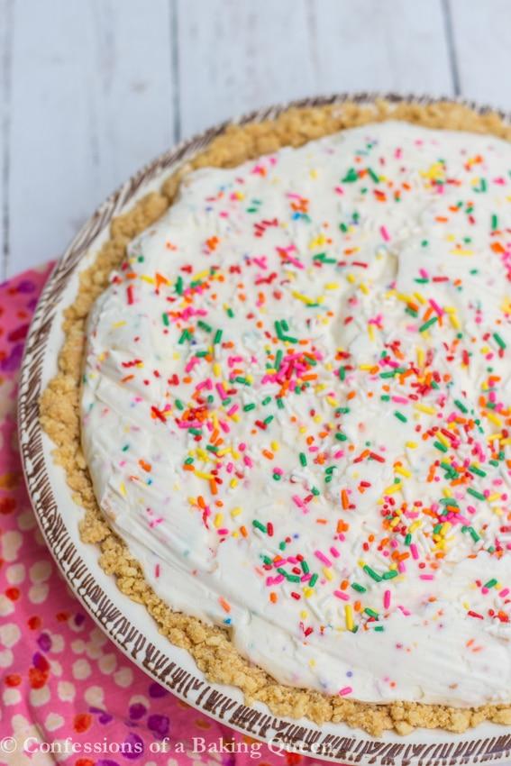 Melted Ice Cream Crushed Oreos Cake