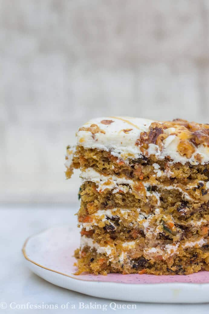Carrot Layer Cake www.confessionsofabakingqueen.com