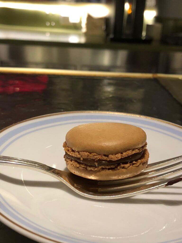 salted carmel macaron laduree paris eats