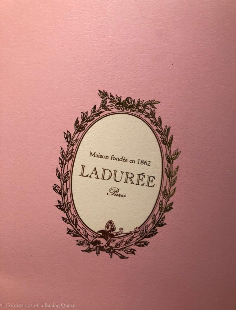 laduree bag paris eats