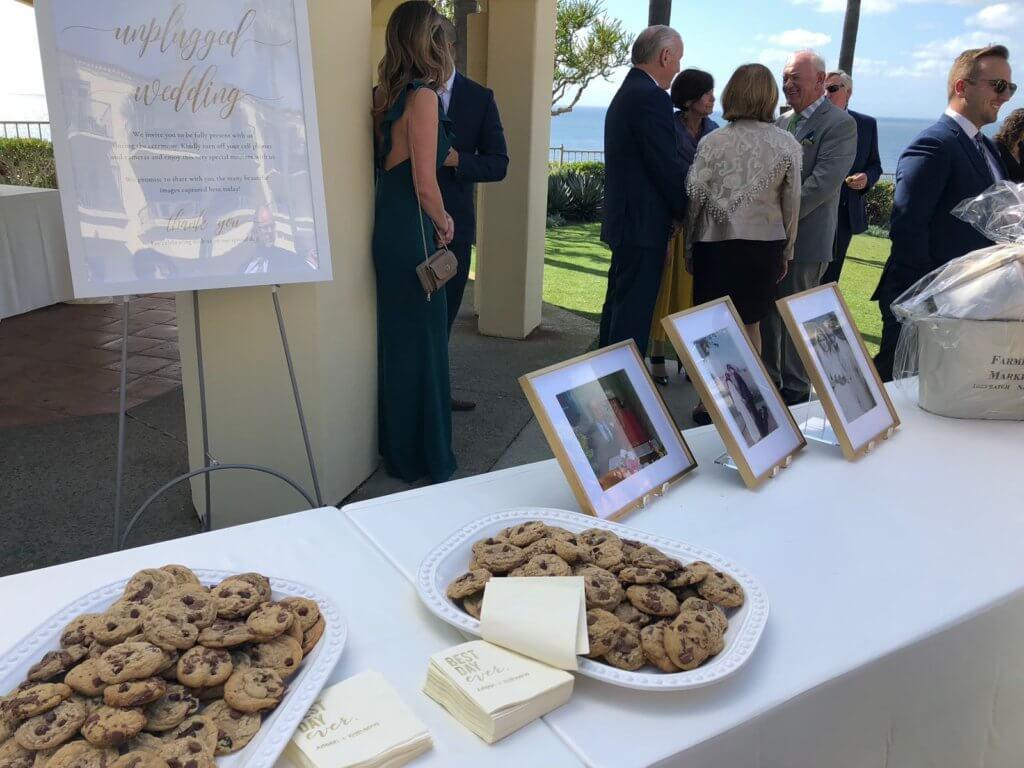 Cookies at Sisters Wedding
