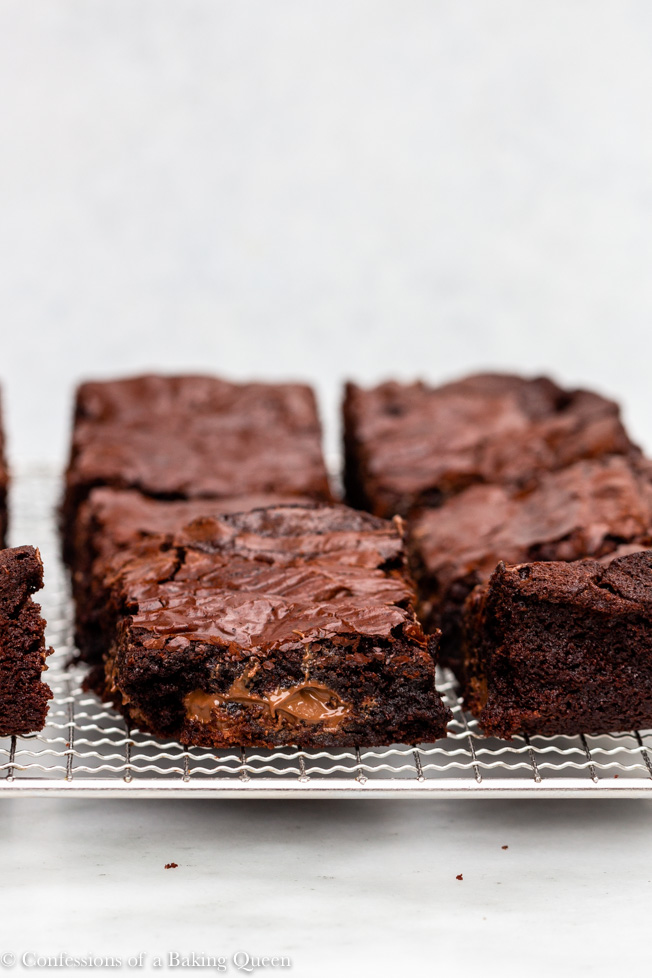 how to make thick brownies